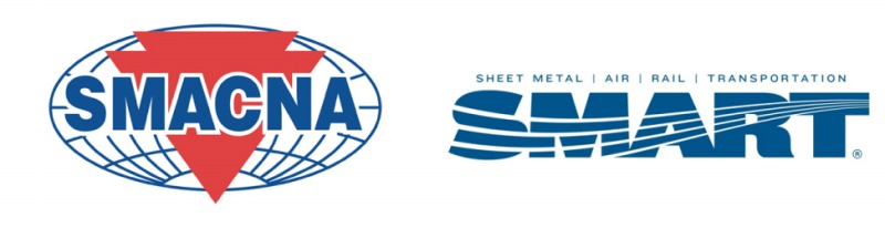 This is a photo of the Sheet Metal Air Rail Transportation logo