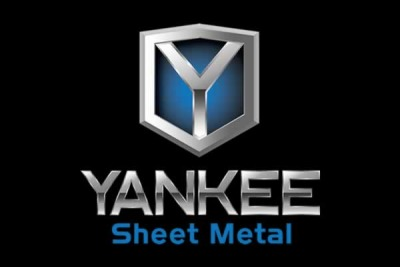 This is a photo of a Yankee Sheet Metal logo